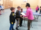 Na igrzyskach dzieci w tenisie stołowym